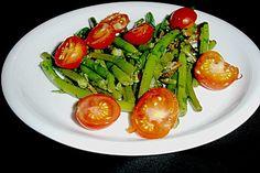 Bohnensalat mit Tomaten