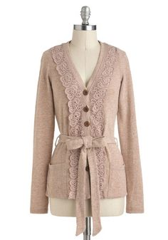 Antique Arcade Cardigan, #ModCloth