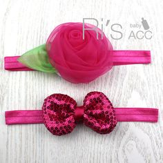 Rose Baby Hair Headband