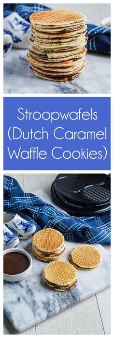 Stroopwafels (Dutch Caramel Waffle Cookies)