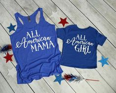 of July Mommy and Me, Matching of July Shirts, Mommy and Me Shirts, Mommy and Me Summer, Fam Mommy And Me Shirt, Mommy And Me Outfits, Family Shirts, Kids Shirts, The Birth Of Christ, Patriotic Shirts, Matching Shirts, 4th Of July, Fourth Of July Shirts For Kids