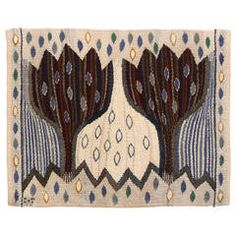 Antique and Modern Russian and Scandinavian Rugs and Carpets - For Sale at Animal Rug, Animal Print Rug, Textile Patterns, Textiles, Rya Rug, Rug Inspiration, Tapestry Weaving, Art Pages, Rug Hooking