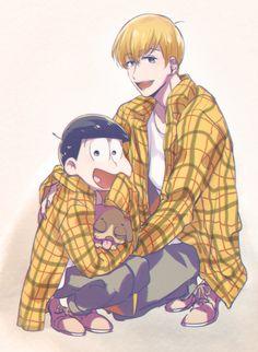 I love him, along with ichimatsu Otaku, Mai Waifu, Onii San, Laughing And Crying, Ichimatsu, Hot Anime Guys, Studio Ghibli, Me Me Me Anime, Vocaloid