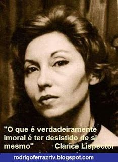 Clarice Lispector (Quotes in Portuguese)