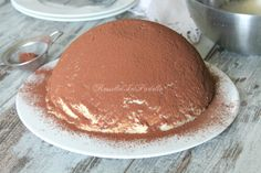 Zuccotto tiramisu' con base wafer