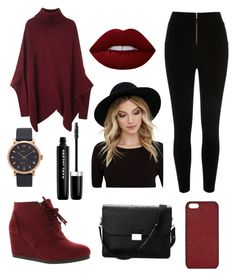 """""""Untitled #15"""" by whartonclara34 on Polyvore featuring River Island, City Classified, Aspinal of London, Marc Jacobs, Maison Takuya, RHYTHM and Lime Crime"""