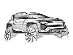 Suv concept drawing with pencil and marker car drawing pencil, pencil drawings, copic sketch Car Design Sketch, Car Sketch, Sketch Art, Concept Draw, Best Suv, Industrial Design Sketch, Car Drawings, Pencil Drawings, Futuristic Cars