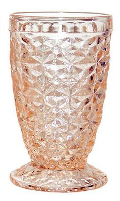 Pink Depression Glass - Holiday by Jeanette Glass Co.  My mom is looking for the green~* pinning for her