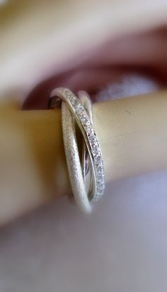 Fine Jewelry - Russian Wedding Bands - Engagement Ring -  Handmade Trinity Wedding Band on Etsy, $345.00