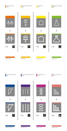BME / UNIVERSITY LOGO AND PICTOGRAMS REDESIGN on Behance