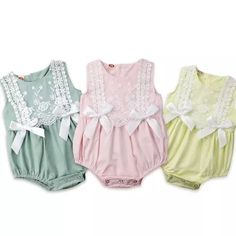 Department Name: BabyMaterial: CottonGender: Baby GirlsSleeve Length(cm): SleevelessClosure Type: Covered ButtonPattern Type: FloralMaterial Composition: Cotton BlendCollar: O-NeckFit: Fits true to size, take your normal sizeItem Type: Rompers Ruffle Romper, Baby Girl Romper, Lace Ruffle, Baby Girl Newborn, Baby Girls, Baby Baby, Gender Neutral Baby Clothes, Cute Baby Clothes, Baby Boutique Clothing