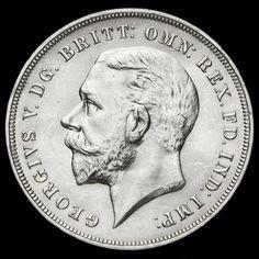 1935 King George V Rocking Horse Silver Jubilee Crown, A/BU