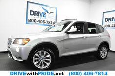 2013 BMW X3 XDRIVE28I AWD PREMIUM 1 OWN NAVI PANO ENTRY DRIVE HTD LEATHER 800-844-9959 FREE   Contact 2013 BMW X3 XDRIVE28I AWD PREMIUM 1 OWN NAVI PANO ENTRY DRIVE HTD LEATHER in Houston, Texas $29,695