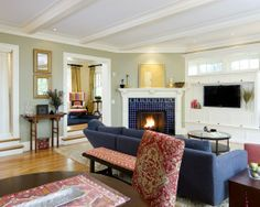 Craftsman Style Decorating | Craftsman Style Living Room Design, Pictures, ... | Craftsman Homes