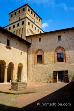 """""""The Castello di Torrechiara was built between 1448 – 1460 by Pier Maria Rossi, Count of San Secondo di Parma, in honor to his lover, Bianca Pellegrini. The castle is the most visited in Parma since it's very well preserved and it combines medieval elements with those of the Italian Renaissance"""" - """"Parma, Cycling to the Castle of Torrechiara"""" by @nomadbiba"""