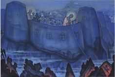 Nikolai Konstantinovich Roerich | Madonna Laboris | Dzieło pójdzie pod młotek w nowojorskim Bonhams (5 czerwca 2013 roku). Cena: od 800 tysięcy do 1,2 miliona funtów. http://rynekisztuka.pl/2013/05/06/wnuczka-picassa-sprzedaje-cenne-dziela-w-paryskim-sothebys/