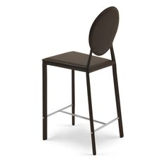 Leon Contemporary Counter Stool with Metal Base | Zuri Furniture