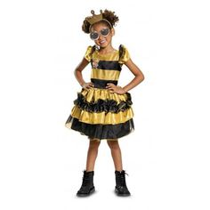 L Dolls: Queen Bee Deluxe Kids Costume - 2018 Costumes for Kids from Costume Super Center - Mia -Check out L.L Dolls: Queen Bee Deluxe Kids Costume - 2018 Costumes for Kids from Costume Super Center - Mia - The Mad Hatter Teen