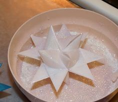With a Grateful Prayer and a Thankful Heart: Dipping Paper German Stars in Wax