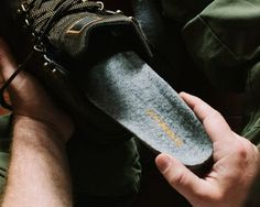 Featuring an exclusive ScentLok layer, and Silent Step stabilizing shape, Men's HUNT insoles provide a comfortable, stable base under your feet when you're zeroing in. The natural, thermo-regulating merino wool and Aerospring impact foam keep you warm and comfortable for hours in the cold. The Ground-Sense impact dampening technology makes the hike out and back easier on your feet. #stepintosuperfeet #huntinggear #bestinsoles