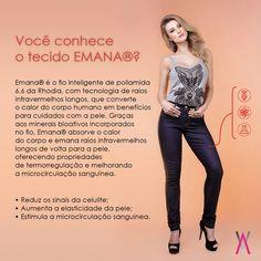 As calças Alvo da Moda com tecnologia Emana® cuidam da sua pele como nenhuma outra poderia cuidar! Aproveite toda a coleção da Linha Saúde em nosso site: www.lojaalvodamoda.com.br