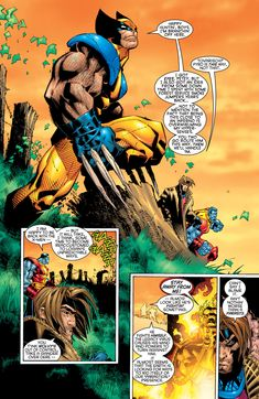 Uncanny X-Men Comic Book Pages, Comic Page, Comic Book Artists, Logan Wolverine, Marvel X, Wolverines, Storyboard, X Men, Art Drawings