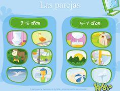 Escuela infantil castillo de Blanca: JUEGO: LAS PAREJAS