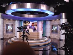 JW-Archive.org — Private Tour of the new JW Broadcasting TV...