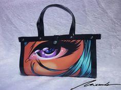 A comic-inspired #bag A Comics, Reusable Tote Bags, Inspired, Inspiration, Fashion, Biblical Inspiration, Moda, Fashion Styles, Fashion Illustrations