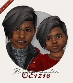 sims 4 cc // custom content kids toddler boy hairstyle // Wings - Nail Effect Kids Hairstyles Boys, Boy Hairstyles, Sims 4 Children, Kids Boys, Toddler Hair Sims 4, The Sims 4 Cabelos, Sims Four, The Sims 4 Download, Sims 4 Clothing