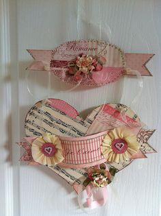 Valentine, Hearts, Romance, Papercrafting