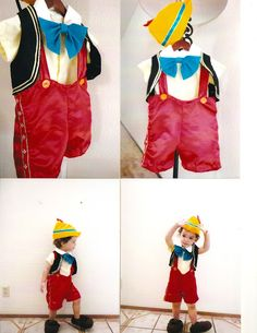 Pinocchio costume for my baby boy | Frosted by Talina del Rio