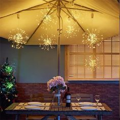 LED Copper Wire Firework Lights(BUY 1 GET OFF) White Things white and colored lights on christmas tree Apartment Balconies, Cool Apartments, Hanging Lights, Fairy Lights, String Lights, Diy Luz, Starburst Light, Diy Lampe, Pop Cans
