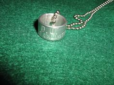 Ducks Unlimited Leg Band Necklace by BulletsAntlersEtc on Etsy, $20.00