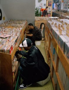 Photo of the day: J Dilla and Madlib  http://fingersonblast.com/blog/2014/7/28/photo-of-the-day-j-dilla-madlib.html