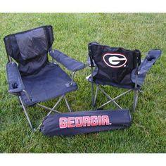 Outdoor Rivalry NCAA Collegiate Folding Junior Tailgate Chair - RV203-1200
