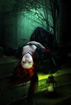 Night Solitude by KryseisRetouche