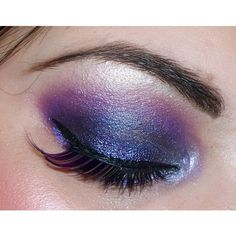 Purple Makeup for Brown Eyes ❤ liked on Polyvore