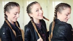 Braided Combo Pigtail Hairstyle | Braidsandstyles12