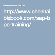 http://www.chennaibizbook.com/sap-bpc-training/
