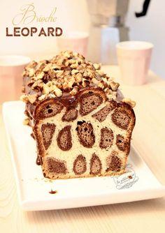 Brioche léopard #brioche #viennoiserie #iletaiunefoislapatisserie #leopard Bread Art, Food Design, Biscuits, Bakery, Food And Drink, Dessert Recipes, Ice Cream, Ethnic Recipes, Sweet