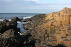Giant's Causeway, Irlanda do Norte.