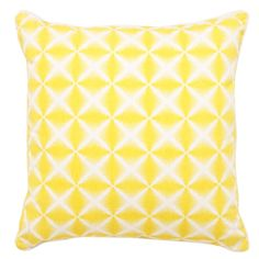 Banyan Cushion 50x50cm in Yellow | was $34.95 NOW $25.99 #thefreedomsale #freedomaustralia #happynewlook
