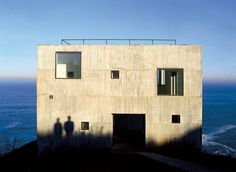 Poli House Cultural Center, by Pezo von Ellrichshausen / Coliumo, Chile (2005)