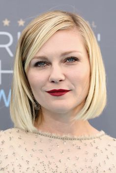 Picture of Kirsten Dunst Latest Hairstyles, Celebrity Hairstyles, Hairstyles With Bangs, Braided Hairstyles, Cool Hairstyles, Kirsten Dunst, Long Hair With Bangs, Long Hair Cuts, Cool Blonde