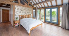 Molyneaux, Exciting contemporary oak framed house with stunning interiors in Scotland
