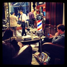 Buzzing along on a rainy Wednesday afternoon.... :) #Yaletown #barberlife - @barberboss- #webstagram