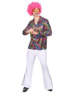 I vestiti di carnevale costume cappello di peluche ARCOBALENO accessori discoteca carnevale