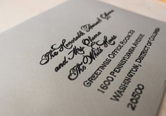 DIY: Faux Calligraphy Tutorial