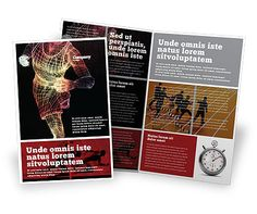 http://www.poweredtemplate.com/brochure-templates/sports/02660/0/index.html Running Man Bi Fold Brochure Template